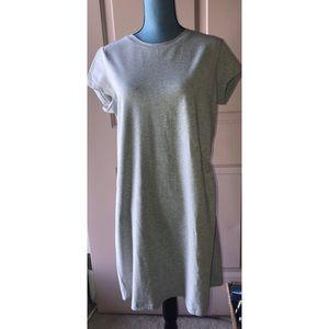 Isaac Mizrahi Gray Cotton Day Dress NWOT #0293